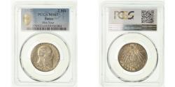 World Coins - Coin, German States, BADEN, Friedrich I, 2 Mark, 1902, Stuttgart, PCGS, MS65