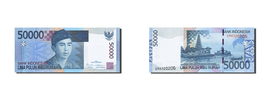 World Coins - Indonesia, 50 000 Rupiah, 2009, 2009, UNC(65-70)