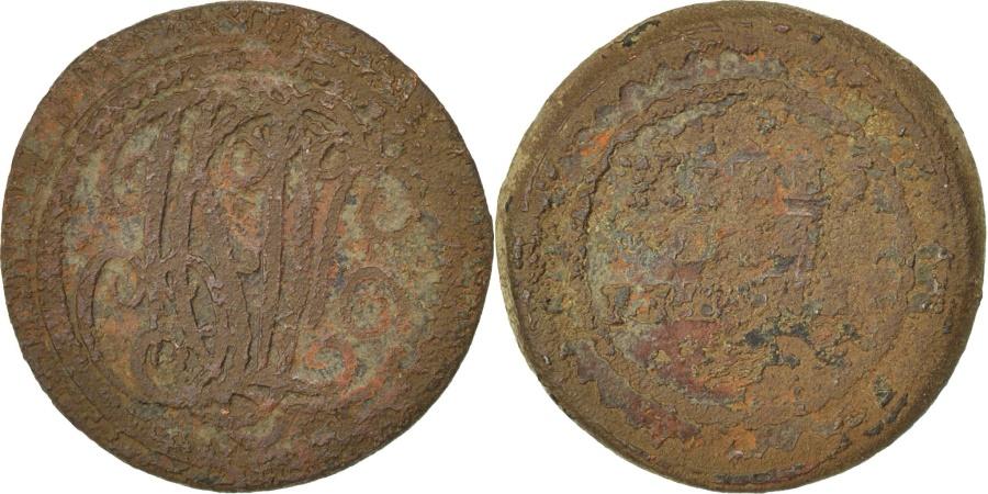 World Coins - FRANCE, 5 Centimes, , Bronze, 6.78