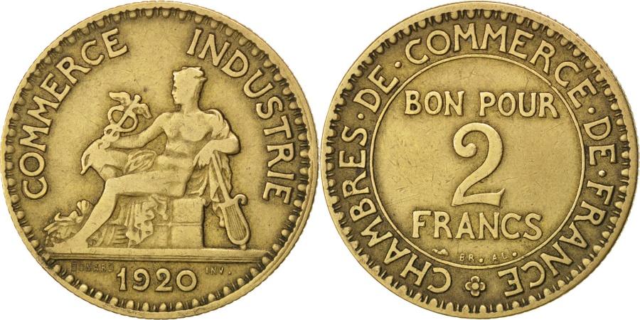 France chambre de commerce 2 francs 1920 paris km - Chambre de commerce france ...