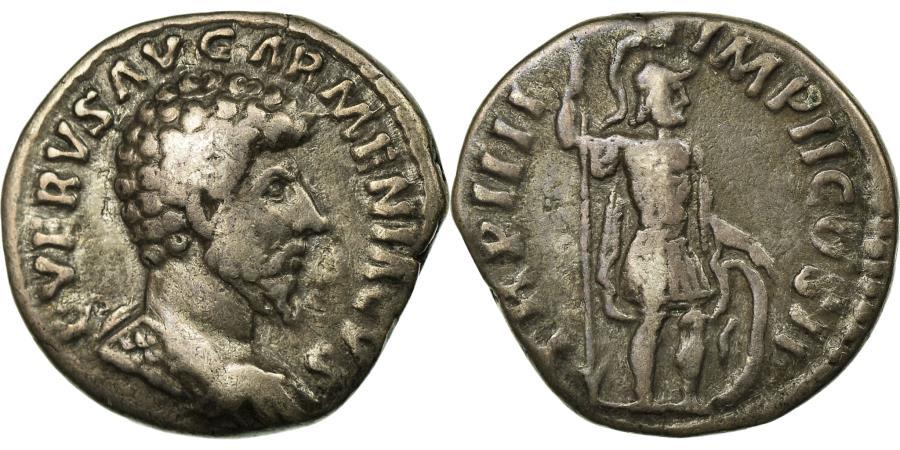 Ancient Coins - Coin, Lucius Verus, Denarius, Rome, EF(40-45), Silver, Cohen:228