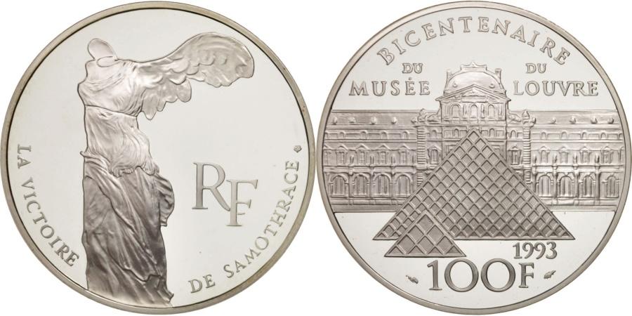 World Coins - France, 100 Francs, 1993, , Silver, KM:1019, Gadoury:C49