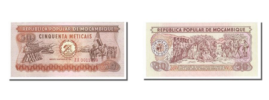 World Coins - Mozambique, 50 Meticais, 1980, KM #125, 1980-06-16, UNC(65-70), AA