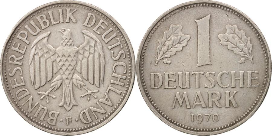 World Coins - GERMANY - FEDERAL REPUBLIC, Mark, 1970, Stuttgart, , KM:110