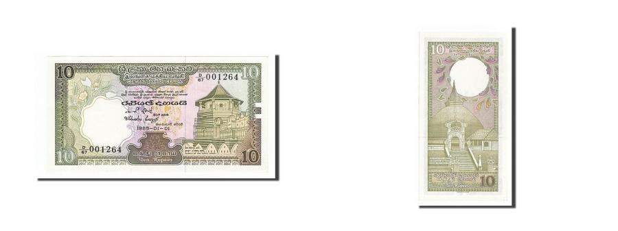 World Coins - Sri Lanka, 10 Rupees, 1985, KM #92a, 1985-01-01, UNC(65-70), D/67