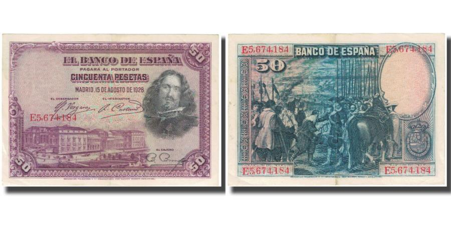 SPAIN 25 PTAS 1928 VF CONDITION.