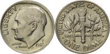 Us Coins - United States, Roosevelt Dime, Dime, 1985, U.S. Mint, Philadelphia, MS(65-70)