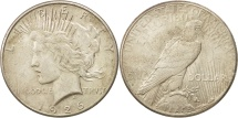 Us Coins - United States, Peace Dollar, 1926, San Francisco, AU(50-53), KM:150