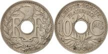 World Coins - France, Lindauer, 10 Centimes, 1939, AU(50-53), Nickel-Bronze, KM:889.1