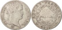 France, 5 Francs, 1813, Paris, VF(20-25), Silver, KM:694.1, Gadoury:584