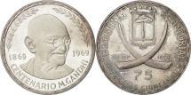 World Coins - Coin, Equatorial Guinea, 75 Pesetas, 1970, AU(55-58), Silver, KM:11