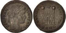 Constantine I, Nummus, 322, Trier, AU(55-58), Copper, RIC:VII 475