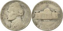 Us Coins - United States, Jefferson Nickel, 5 Cents, 1944, U.S. Mint, Philadelphia
