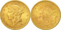 Us Coins - United States, Liberty Head, $20, 1899, Philadelphia, AU(50-53), Gold, KM:74.3