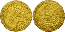 World Coins - Great Britain, Edward IV, Gold Angel, London, EF(40-45), Gold, Spink:2091