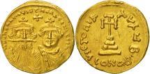 Heraclius, Solidus, Constantinople, AU(50-53), Gold, Sear:749