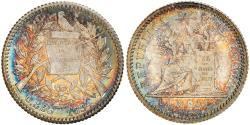 World Coins - Coin, Guatemala, 1/2 Real, Medio, 1894, , Silver, KM:165