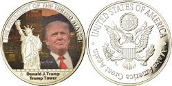 Us Coins - United States of America, Medal, Les Présidents des Etats-Unis, Trump Tower