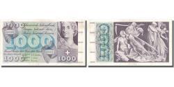 World Coins - Banknote, Switzerland, 1000 Franken, 1954, 1954-09-30, KM:52a, EF(40-45)
