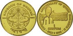 World Coins - Coin, Bhutan, Sertum, 1995, , Gold, KM:85