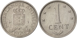 World Coins - Netherlands Antilles, Juliana, Cent, 1979, , Aluminum, KM:8a