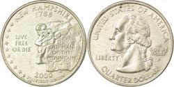 Us Coins - Coin, United States, New Hampshire, Quarter, 2000, U.S. Mint, Philadelphia
