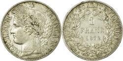 World Coins - Coin, France, Cérès, Franc, 1872, Paris, , Silver, KM:822.1