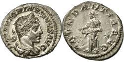 Ancient Coins - Coin, Elagabalus, Denarius, 218-222, Roma, AU(50-53), Silver, Cohen:1