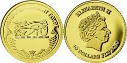 World Coins - Coin, Fiji, 10 Dollars, 2010, Oudjat, , Gold