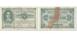 World Coins - Banknote, Belgium, 5 Francs, 1915, 1915-01-14, KM:88, VF(20-25)