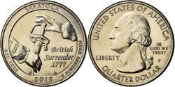 Us Coins - Coin, United States, New York, Quarter, 2015, Philadelphia,