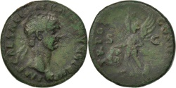 Ancient Coins - Trajan, As, Rome, , Bronze, RIC #395, 9.49