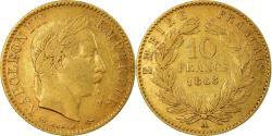 World Coins - Coin, France, Napoleon III, Napoléon III, 10 Francs, 1868, Paris,
