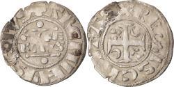 World Coins - Coin, France, Champagne, Guillaume I, Denarius, 1176-1202, Reims,