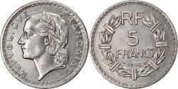 World Coins - Coin, France, Lavrillier, 5 Francs, 1938, Paris, , Nickel, KM:888