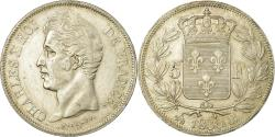 World Coins - Coin, France, Charles X, 5 Francs, 1830, Rouen, , Silver, KM:728.2