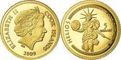World Coins - Coin, Cook Islands, Helios, 5 Dollars, 2009, , Gold