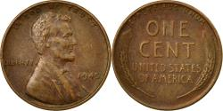 Us Coins - Coin, United States, Lincoln Cent, Cent, 1945, U.S. Mint, Philadelphia