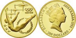 World Coins - Coin, Australia, Elizabeth II, 200 Dollars, 1993, , Gold, KM:220