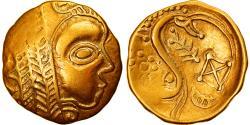Ancient Coins - Coin, Leuci, 1/4 Stater, 2nd-1st century BC, , Gold, Delestrée:manque.