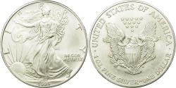 World Coins - Coin, United States, Dollar, 1995, U.S. Mint, Philadelphia, AU(55-58), Silver
