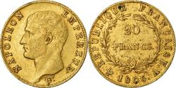 Ancient Coins - Coin, France, Napoléon I, 20 Francs, 1806, Paris, , Gold, KM:674.1