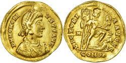 Ancient Coins - Coin, Honorius, Solidus, 395-402, Milan, , Gold, RIC:1206C