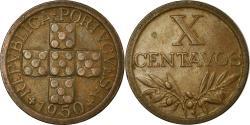 World Coins - Coin, Portugal, 10 Centavos, 1950, , Bronze, KM:583