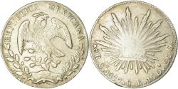 World Coins - Coin, Mexico, 8 Reales, 1877, Chihuahua, , Silver, KM:377.2