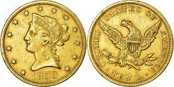 Us Coins - Coin, United States, Coronet Head, $10, Eagle, 1850, U.S. Mint, Philadelphia