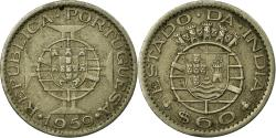 World Coins - Coin, INDIA-PORTUGUESE, 60 Centavos, 1959, , Copper-nickel, KM:32