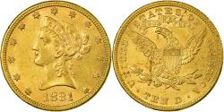 Us Coins - Coin, United States, Coronet Head, $10,Eagle,1881,Philadelphia,,KM 102