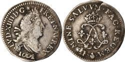 World Coins - Coin, France, Louis XIV, 4 Sols aux 2 L, 1692, Paris, , Silver