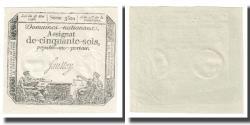 World Coins - France, 50 Sols, 1793, 1793-05-23, UNC(65-70), Fayette:ass42e, KM:A70a